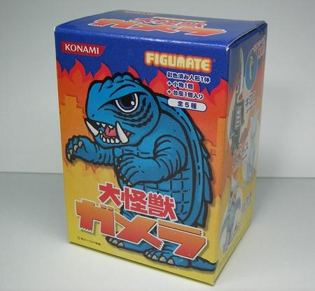 フィギュメイト 大怪獣ガメラ パッケージ